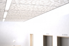 Techstyle® Graphic Small Origami panels in Sterling