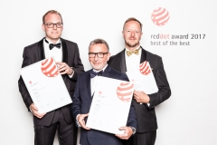 The winning team behind HeartFelt™ at the Red Dot Awards (©Red Dot)
