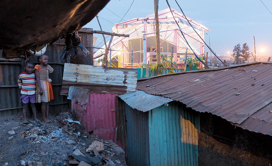 Kibera School (C) Iwan Baan