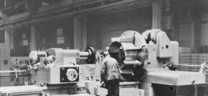 Hunter Douglas' aluminum casting plant in 1947 in Rotterdam, Netherlands.