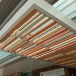 Marmalade Library features NBK terracotta baguettes