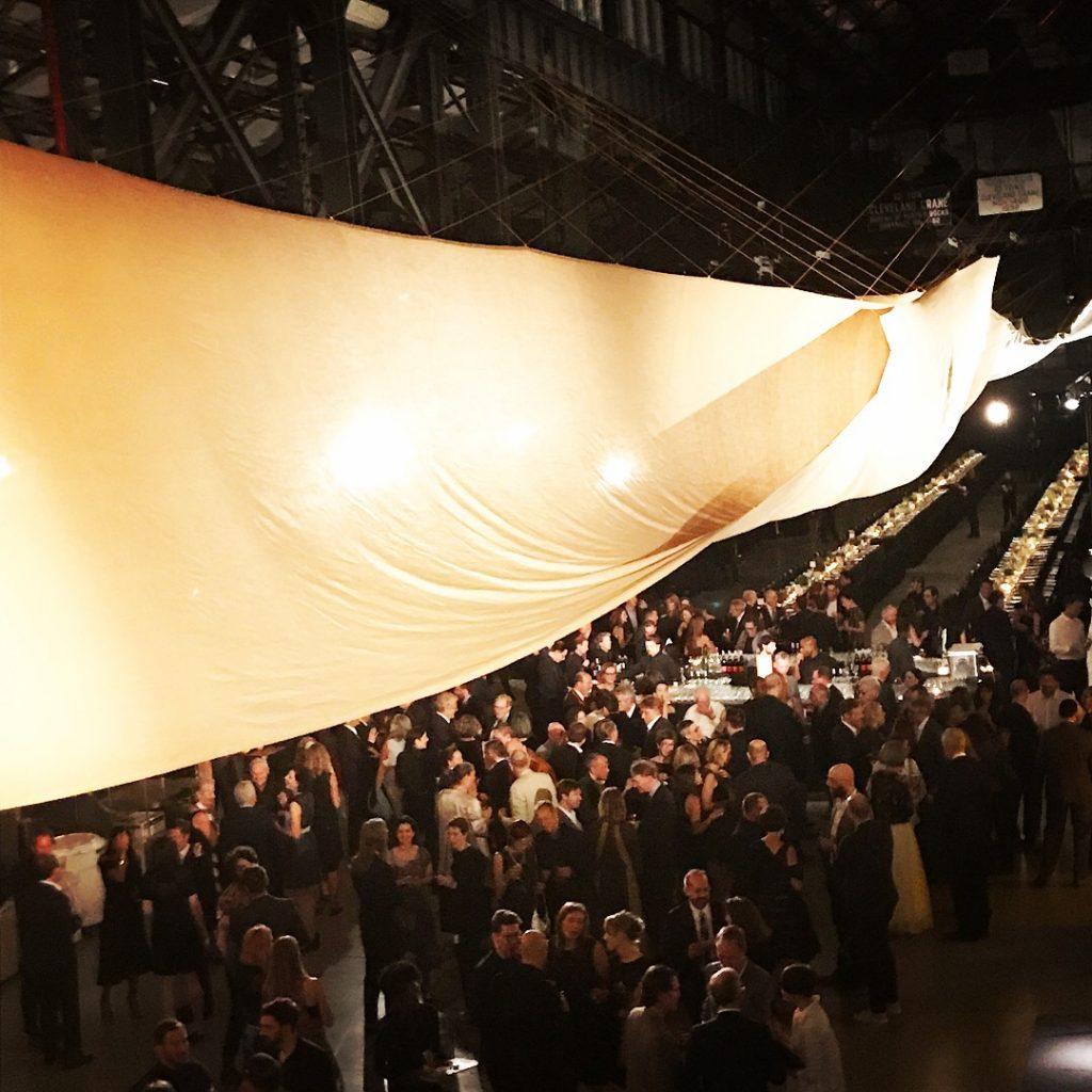 Over 1300 architects & designers attended the Beaux Arts Ball
