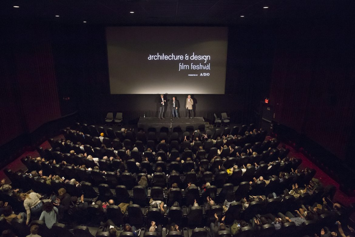 1-on-1 with the entrepreneurial architect who founded Architecture & Design Film Festival
