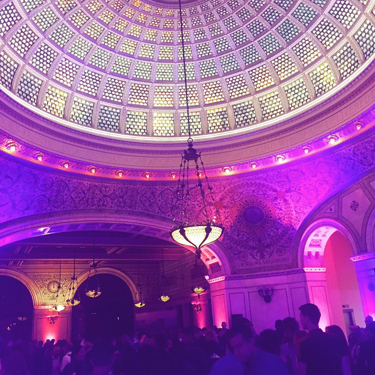 The Biennial's opening week party