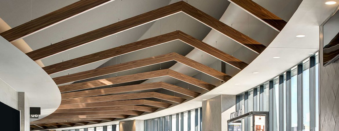 Gensler walks us through the major redesign of the iconic Nassau Coliseum featuring custom engineered Hunter Douglas ceilings.