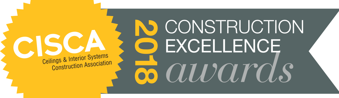Hunter Douglas Architectural ceilings were featured in three projects honored by CISCA.