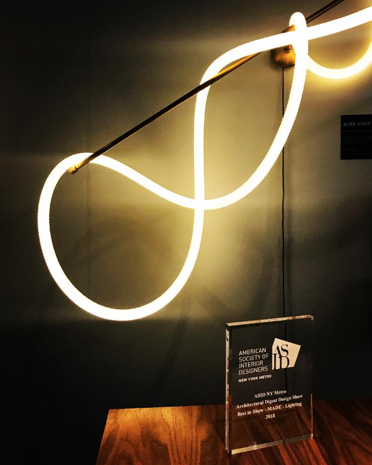 """Luke Lamp Company took home the American Society of Interior Designers' """"Best in Show"""" award for lighting in the juried MADE category."""