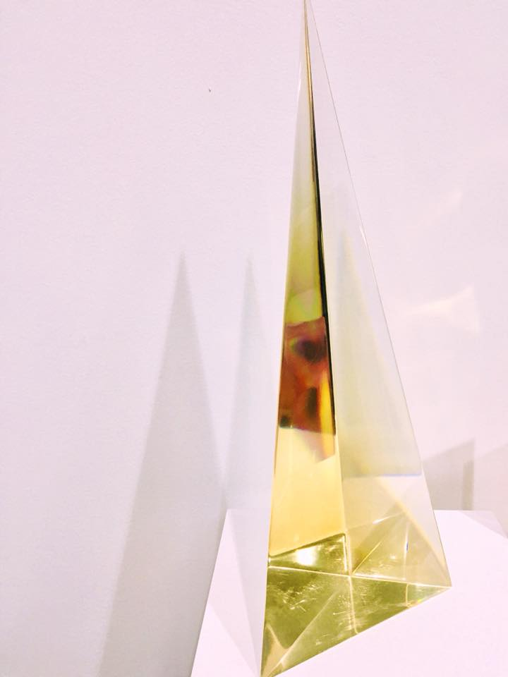 LA-based artist J.S. Nero is exploring the alchemic properties of resin with her geometry-inspired sculptures.