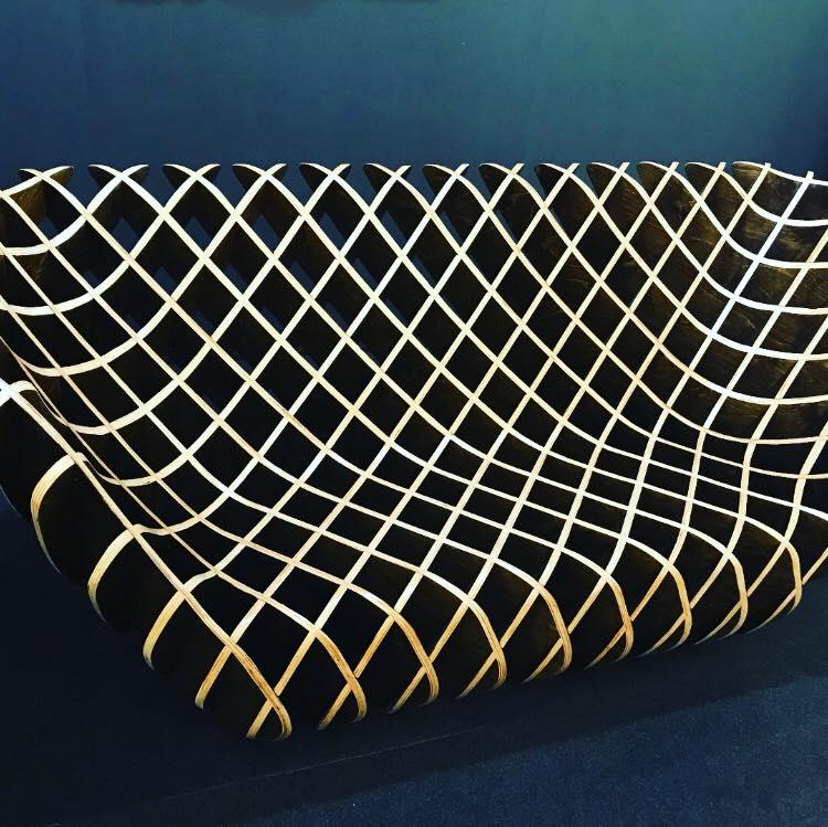 Bones Studio's sculptural wood furnishings double as art.
