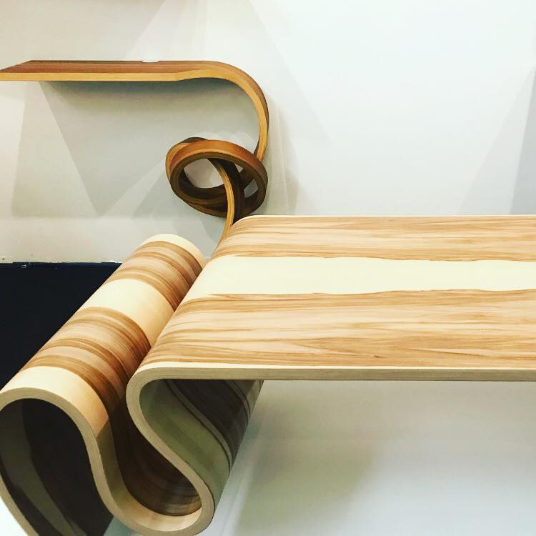 Kino Guérin adds a serious sense of fluidity to wood.
