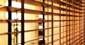 Opting for wood on blinds helps bring natural elements inside.