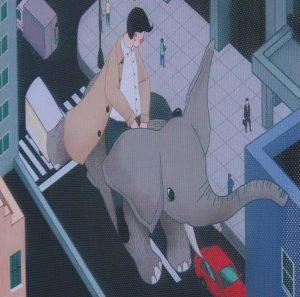 """Flying Elephant"" by Wenkai Mao"