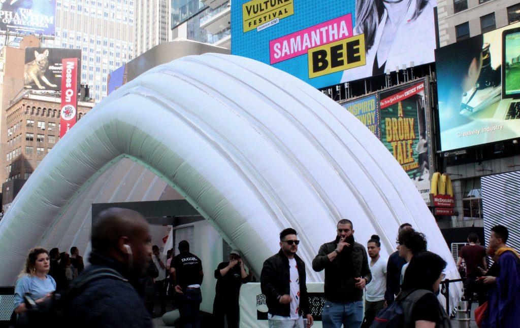 The Design Pavilion lands in NYC