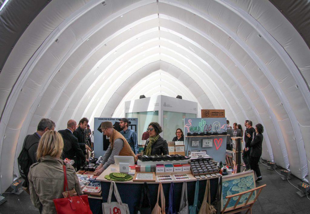 Inside the Design Pavilion