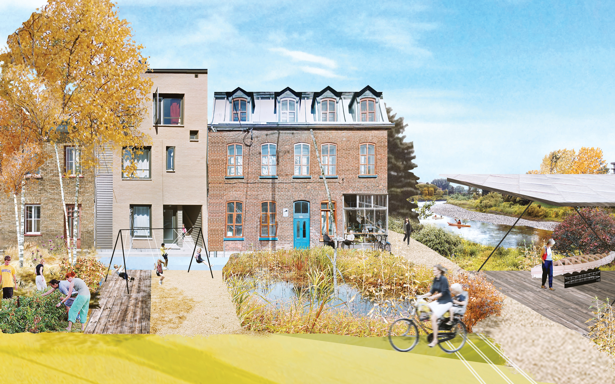 Cadaster | Headwater Lot: Adaptive Reuse Plan of Quebec City's Rights-of-Way, Quebec City, Canada, 2017. By Cadaster