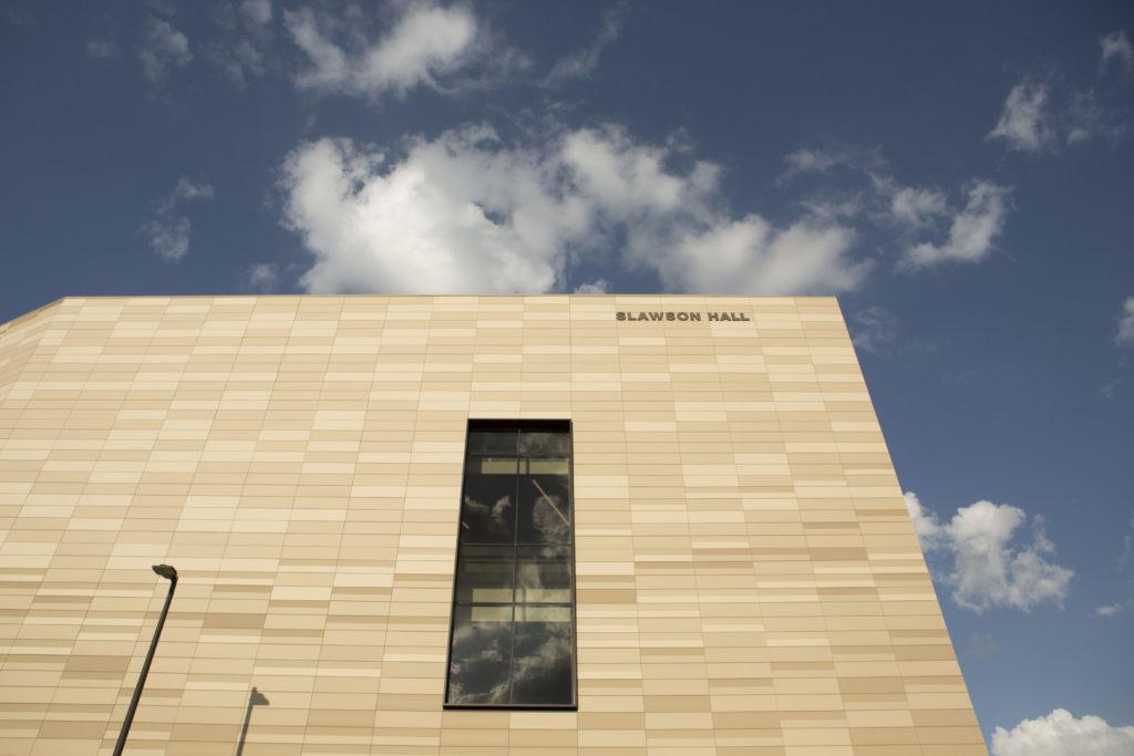 University of Kansas, Earth, Energy & Environment Center, Clad in NBK Terracotta & Native Limestone, Bridges Natural History & Cutting-Edge Design