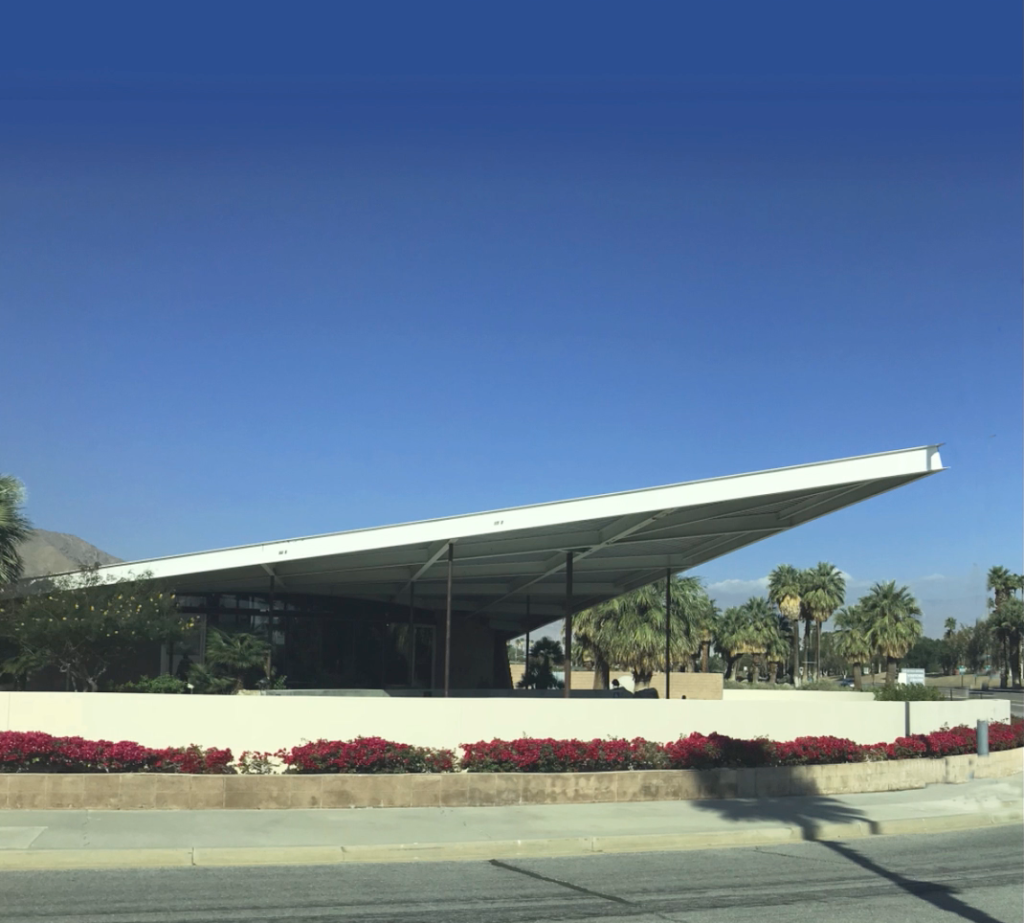 Palm Springs Visitors Center, Albert Frey, 1963