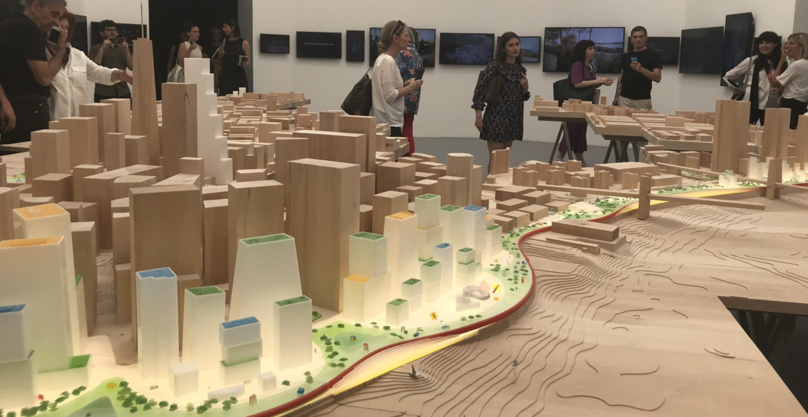 Humanhattan 2050: A Vision for a Resilient Manhattan, Presented at the Venice Architecture Biennale