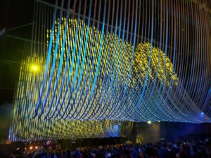 """""""Ceiling Unlimited"""" installation at Beaux Arts Ball designed by Molly Hunker and Greg Corso, of SPORTS."""