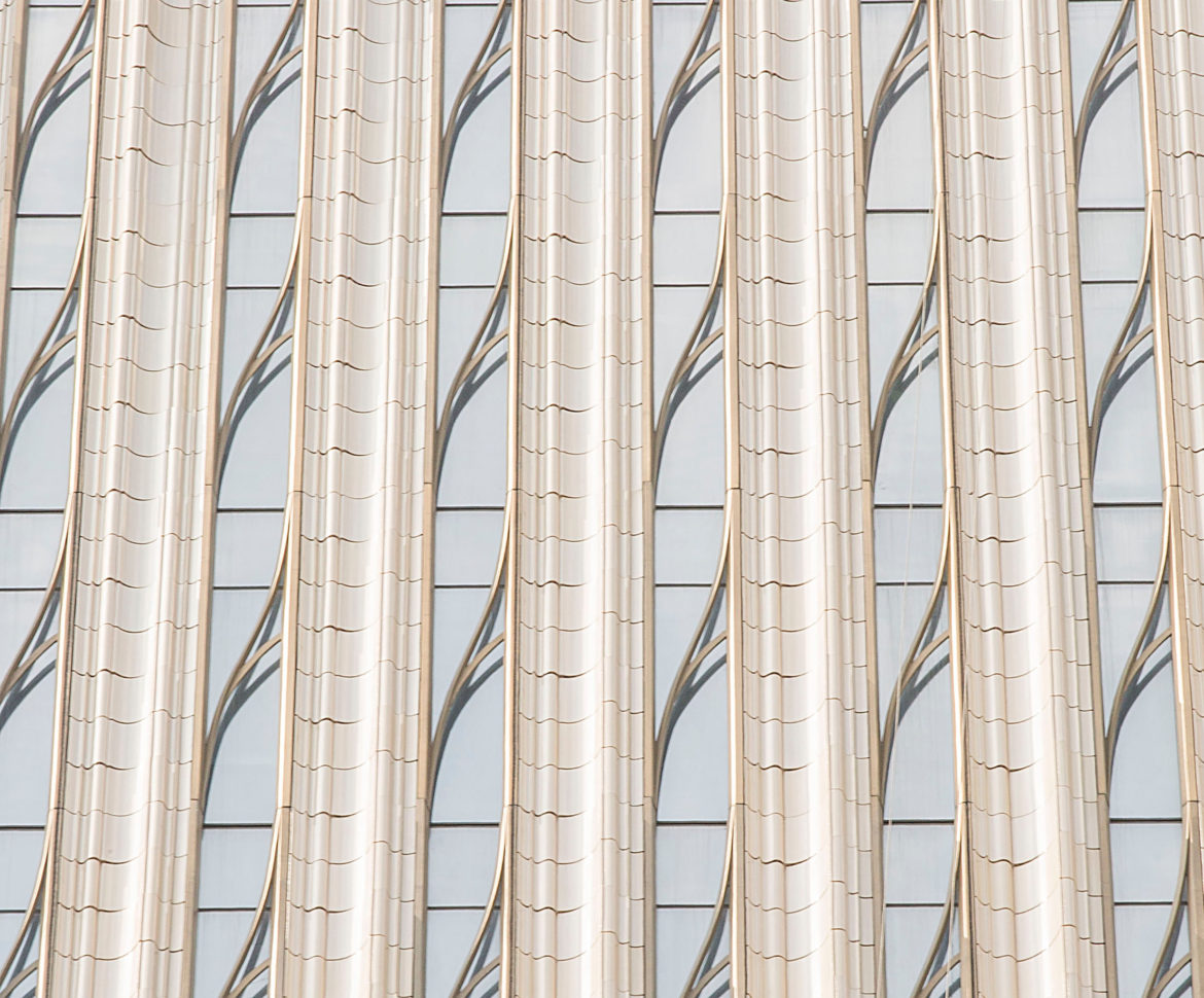 NBK Terracotta at SHoP Architect's newest tall tower, 111 West 57th St. Photos by Ashley Streff.