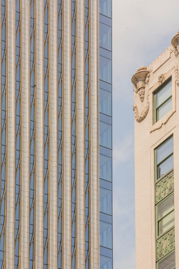 Manhattan's new skyscraper 111 West 57th St. boasts a façade made of NBK Terracotta with ornamental bronze and glass