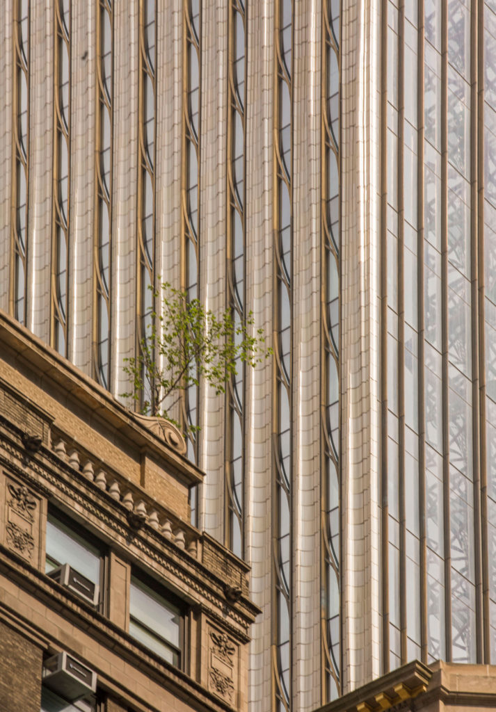 NBK Terracotta detailing at SHoP Architect's newest tall tower, 111 West 57th St. Photos by Ashley Streff.